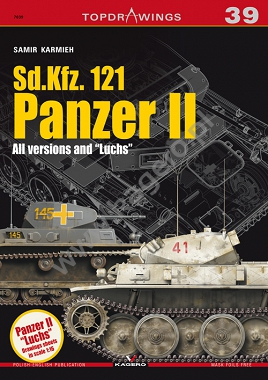 "Sd.Kfz. 121  Panzer II. All versions and ""Luchs"""