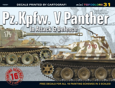 31 - Pz.Kpfw. V Panther In Attack & Defence (kalkomania)