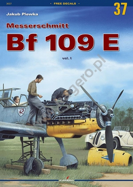 37 - Messerschmitt Bf 109 E vol.1 - only Polish version without decals