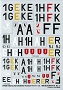 03 - Decal from the book 3003 Heinkel He 111 vol I -  Aero