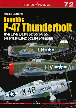 Republic P-47 Thunderbolt Xp-47B, B,C,D,G