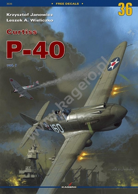 36 - Curtiss P-40 vol. I (without decals)