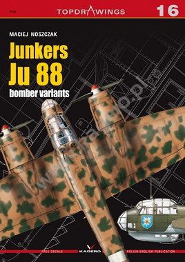 Junkers Ju 88 bomber variants (decals)