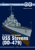 The Flecher- class destroyer USS Stevens (DD-479)