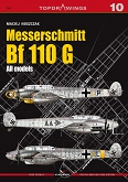 10 - Messerschmitt Bf 110 G all models